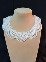 Collier mariage cristal blanc