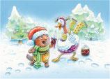 Weihnachtskarten, 10 Stück