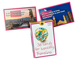 36 Cards for Worldly Travelers - englische Version