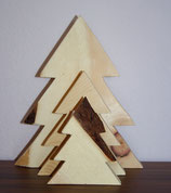 Weihnachtsbäume im 3er Set - 20cm, 15cm, 10cm