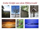 "Postkarte ""Liebe Grüße aus dem Pfälzerwald"""