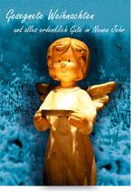"""Grußkarte """"Weihnachten Engel"""" DIN A6"""