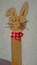 Osterhase aus Zirbenholz