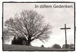 """Grußkarte Trauer """"In stillem Gedenken"""" DIN A6"""