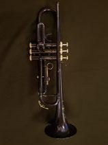 """Blaue  """"Helios"""" Trompete - Modell 88 - kleine Lackschäden"""