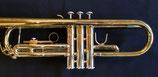 Jazztrompete-Goldmessingmundrohr-Neusilberaussenzüge- lackiert-Monelventile