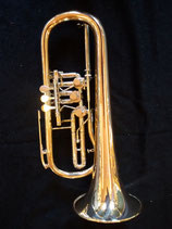 "Konzertflügelhorn - ""Schmid"" - Eigenbau - asymmetrische Ventilführung - 3 ventilig - vibrationsentdämpft"