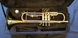 """Trompete """"Schmid"""" - Messing, lackiert - Monelventile - Neusilberaußenzüge"""