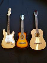 Grosse Auswahl an Gitarren ab 85,-€   - ständig wechselndes Sortiment