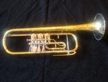 """Konzerttrompete - """"Schmid"""" - Eigenbau - vibrationsentdämpft - Ausstellungsstück mit  leichten Lackschäden (kaum sichtbar!)"""