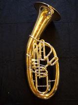 """Bariton  - Eigenbau - """"Schmid""""- 4 ventilig - asymmetrische Ventilführung - vibrationsentdämpft"""