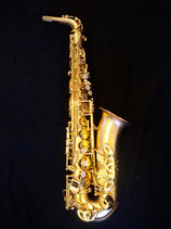 "Saxophon - ""saxess"" -  Messing, vergoldet"