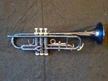 Jazztrompete - blau  lackiert