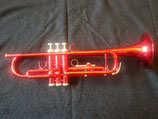 Jazztrompete - rot lackiert