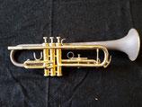 Jazztrompete - Schallstück mit Leder überzogen - vibrationsentdämpft