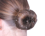 """QHP Hairnet """"Invisible Pearl"""""""
