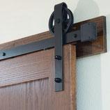 ヴィンテージスタイル Barn Door吊り戸スライドレール金物 NO, VSRー00358