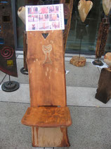 Steckstuhl aus Buchenholz Objektnr. 005
