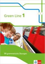 Green Line 1 - 99 grammatische Übungen mit Lösungen