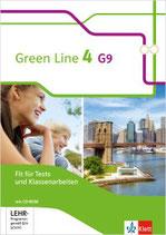 Green Line 4 - Fit für Tests und Klassenarbeiten mit Lösungsheft und CD-ROM