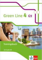 Green Line 4 - Trainingsbuch mit Audio-CD