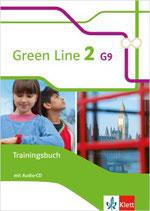 Green Line 2 - Trainingsbuch mit Audio-CD