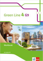 Green Line 4 - Workbook mit Audio-CDs