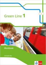 Green Line 1 - Workbook mit Audio-CDs