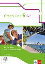Green Line 5 - Fit für Tests und Klassenarbeiten mit Lösungsheft und CD-ROM