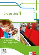 Green Line 1 - Fit für Tests und Klassenarbeiten mit Lösungsheft und CD-ROM