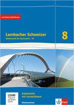 Lambacher Schweizer 8 - Arbeitsheft plus Lösungsheft und Lernsoftware