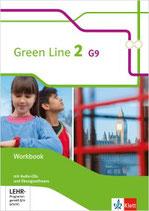 Green Line 2 - Workbook mit Audio-CDs und Übungssoftware