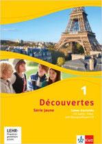 Découvertes 1 - Série jaune - Cahier d'activités mit MP3-CD, Video-DVD und Übungssoftware