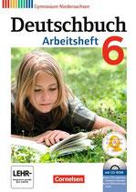 Deutschbuch 6 - Arbeitsheft mit Lösungen und Übungs-CD-ROM