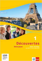 Découvertes 1 - Série jaune - Cahier d'activités mit MP3-CD und Video-DVD
