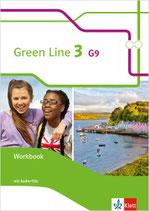 Green Line 3 - Workbook mit Audio-CDs