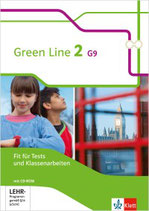 Green Line 2 - Fit für Tests und Klassenarbeiten mit Lösungsheft und CD-ROM