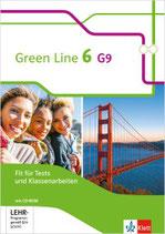 Green Line 6 - Fit für Tests und Klassenarbeiten mit Lösungsheft und CD-ROM