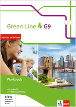 Green Line 4 - Workbook mit Audio-CDs und Übungssoftware