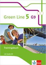 Green Line 5 - Trainingsbuch mit Audio-CD