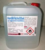 Handdesinfektion Kanister 5 Liter