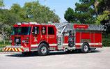 Fire Truck Led Halloween Parade - 10/31/21