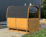 "Fasssauna ""more space""  Saunafass Gartensauna 250cm"