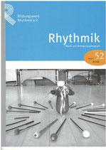 Rhythmik-Report Nr. 52 2016