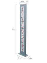 Alu Tube Display