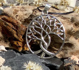 Amulett LEBENSBAUM oval