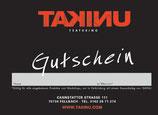 TAKINU Atelier Gutschein