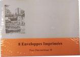 Enveloppes imprimées x8