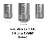 CUBIS 0,6 oMh BF SS316