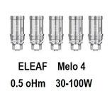 ELEAF Résistances EC2   0,5 oMh pour Melo 4  D22 & D25